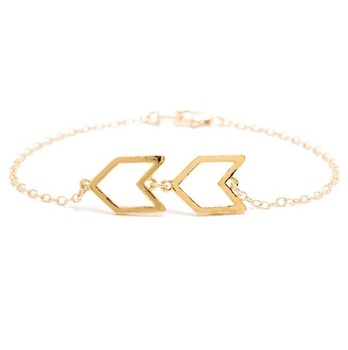 chevron-charm-bracelet