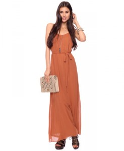 The Maxi Dress in Nude ($15.50)