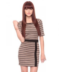 Houndstooth Dress ($19.80)