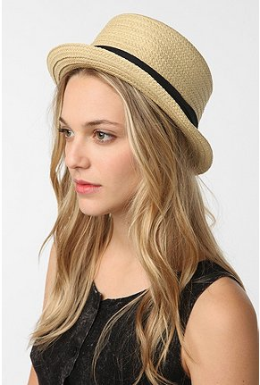 straw hat, porkpie hat, summer hat