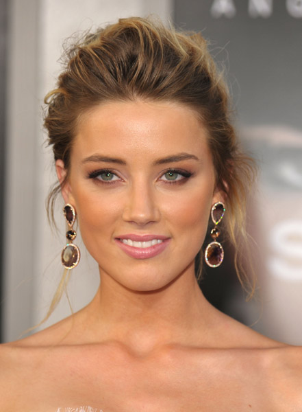 Beautifully tanned Amber Heard