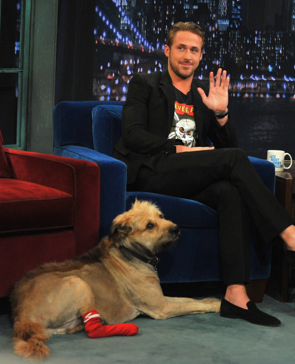 "Ryan Gosling Visits ""Late Night With Jimmy Fallon"""