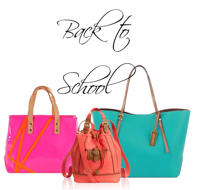 back to school totes