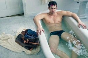 Michael Phelps Louis Vuitton Annie Leibovitz