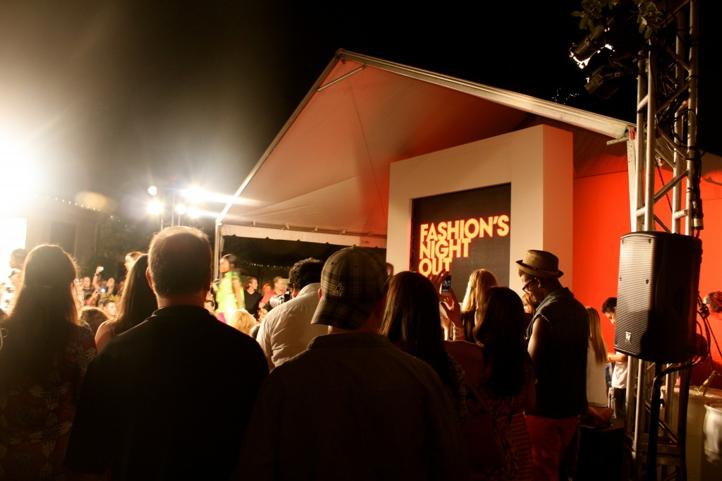Fashion's Night Out 2012 - highland park village