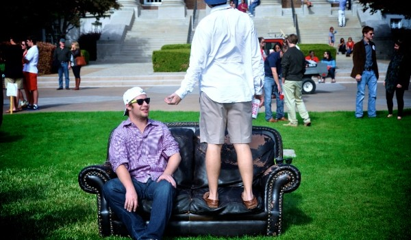 tailgating couch