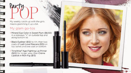 Hilary Kennedy Party Pop with Mary Kay