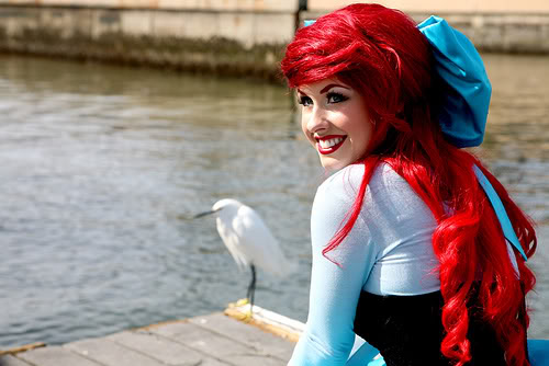 Mermaid Halloween Costume and Makeup from a Real Life Ariel ...
