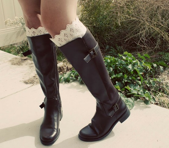 How to Wear Tall Socks with Boots   YouPlusStyle