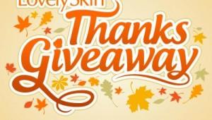 lovely skin thanksgiveaway