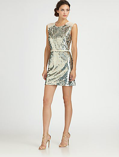 ERIN by Erin Fetherston Sequined Dress