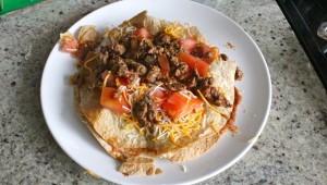 healthy mexican pizza