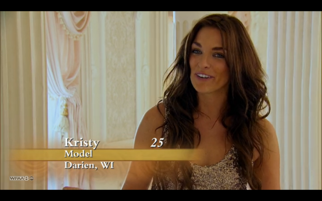 Kristy the bachelor