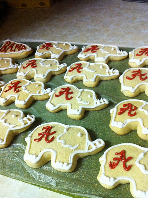 alabama elephant cookies