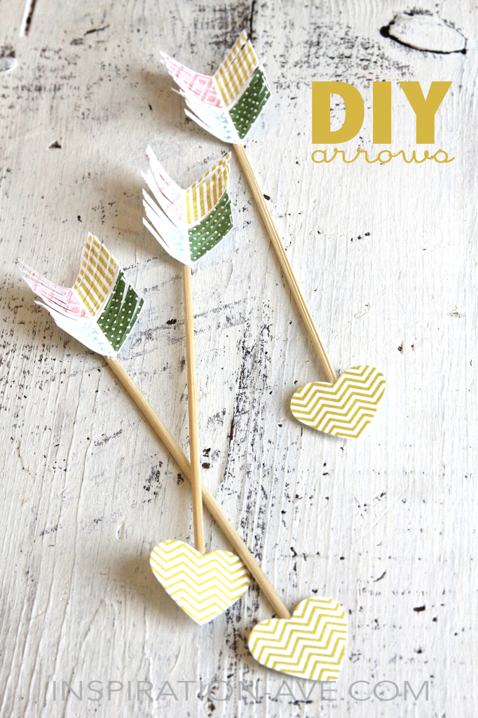 valentines day arrows diy