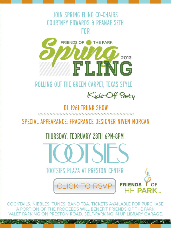 friends of the park spring fling
