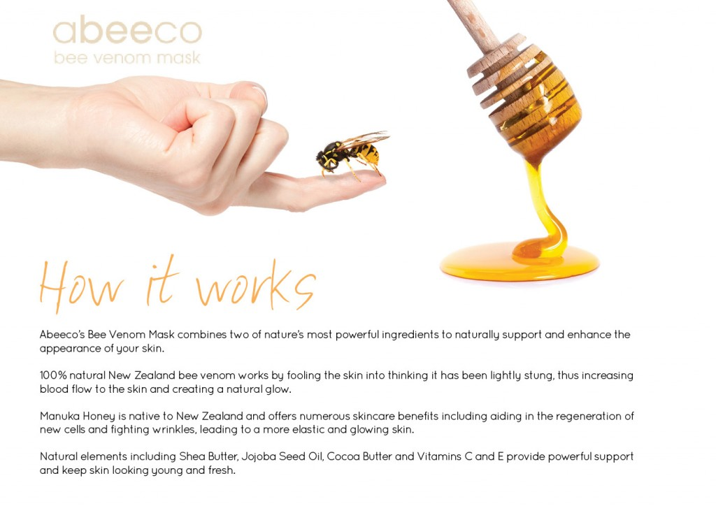 abeeco bee venom mask review