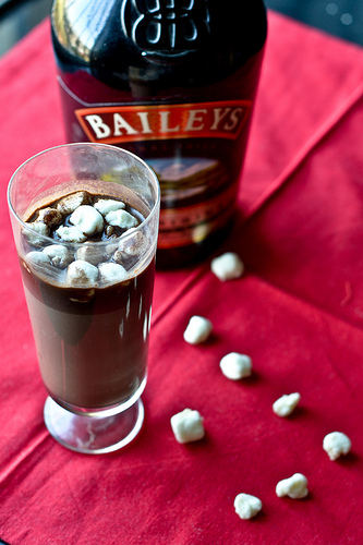 bailey's irish cream hot chocolate