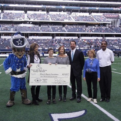 Dallas Cowboys Community Quarterback award