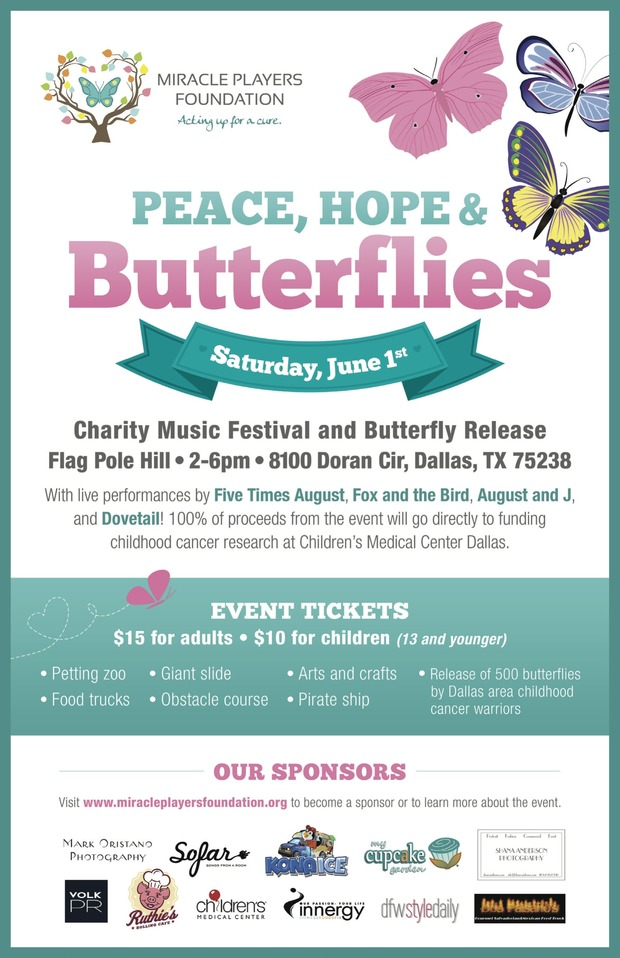 Peace, Hope, and Butterflies @ Flag Pole Hill | Dallas | Texas | United States