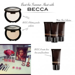 BECCA cosmetics - matte skin collection